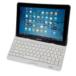 Koolertron Luxury Ultra Slim Wireless Aluminum Metal Bluetooth Keyboard Case For Samsung Galaxy Note 10.1 2014 Edition SM-P600/P601/P605