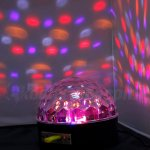Fuloon Bluetooth 25W RGB MP3 Crystal Magic Ball Sound Activate Party Xmas Club Disco DJ Stage IR Remote