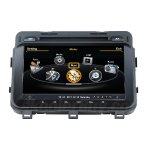 Car DVD GPS Navigation For 2014 2015 Kia Optima With dual-core/3Zone POP 3G/WIFI/20 Disc CDC/ DVD Recording/ Phonebook / Game