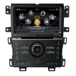 Car DVD GPS Navigation With dual-core/3Zone POP 3G/WIFI/20 Disc CDC / DVD Recording / Phonebook / Game For 2013 Ford Edge