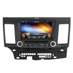 Rupse 8 Inch Digital HD Touchscreen DVD GPS player with SWC iPod BT Control for 2007-2011 MITSUBISHI LANCER