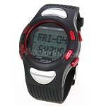 Pellor Outdoor 3D Sport Step Counter Watch Heart Rate Monitor With Backlight