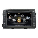 Koolertron 2009 2010 2011 Kia Sorento GPS Navigation With 3 Zone/POP/3G/WIFI/20 Disc CDC/DVD Recording/Phonebook/Game