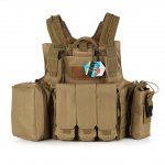 Tactical Hunting Heavy Duty Molle Vest Combat Tactical Gear Adjustable Vest