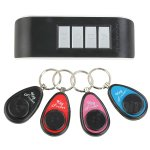 Fuloon Remote Wireless Key Wallet Finder Receiver Lost Thing Alarm Locator Anti-lost