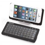 Wireless Bluetooth Dual-model Keyboard For iPhone iPad Samsung Built-in 2200mA Battery can Charge For iPhone4/4s