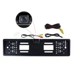 Koolertron Waterproof Europe License Plate Frame CMOS Backup Camera PAL