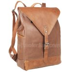 "Antwalking Classic Casual PU Leather Vintage Fashion Unisex School Student Laptop Backpack (14"") For Camping Travel Fits Acer Aspire,MacBook,iphone,ipad and Samsung Tablet"