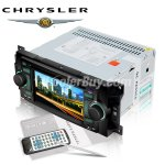 Koolertron Car DVD GPS Player for Chrysler Series with Digital Touch Screen, Radio, SWC iPod BT Control