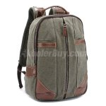 Men/Women Canvas High Capacity Canvas Backpack/Schoolbag/Laptop Bag