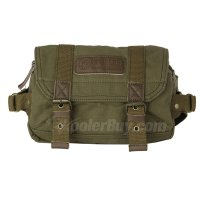 Koolertron Canvas Vintage Waist Packs DSLR Camera Case Bag For Sony Canon Nikon Olympus