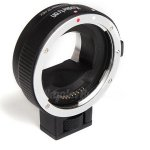 Koolertron Electronic Auto Focus Adjustable Aperture EF-NEX Lens Mount Adapter Ring for Canon EF Lens to Sony E Mount NEX 3/3N/5N/5R/7/A7/A7R Full Frame