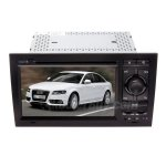 Rupse AUDI A4 B6 B7 S4 RS4 DVD Player GPS Navigation With 7 Inch TFT LCD Touch Screen Monitor
