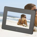 Koolertron 7 Inch LCD Widescreen(16:9) Digital Photo Frame 800*480 Resolution(2 Colors)