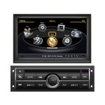 Car DVD GPS Navigation With dual-core/3Zone POP 3G/WIFI/20 Disc CDC/ DVD Recording/ Phonebook / Game For 07 Mitsubishi L200