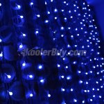 Fuloon 3M x 3M 300 pcs LED Cherry Indoor / Outdoor Party String Fairy Wedding Curtain Light 8 Modes for Choice 220V