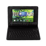 "Koolertron PU Leather Stand Case Cover Bluetooth Keyboard for 7"" Blackberry Playbook"
