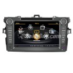 Koolertron Car DVD GPS Navigation With dual-core/3Zone POP 3G/WIFI/20 Disc CDC/ DVD Recording/ Phonebook / Game For 2007-2012Toyota Corolla