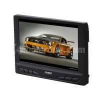 "Koolertron 7"" TFT LCD Monitor With Remote Stand VGA Input For DVD GPS PC Camera"