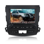 Koolertron 8 Inch Digital HD Touchscreen DVD GPS player with SWC iPod BT Control for 2007-2011 MITSUBISHI OUTLANDER