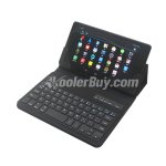 Koolertron Removable Bluetooth ABS Keyboard Leather Case for New Google Nexus 7 FHD LTE 2nd