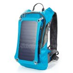 Koolertron Hydration Sport Backpack Cycling Bicycle Bike Hiking Climbing Pouch With 1.8L Bladder Bag and 6.5W Waterproof Solar Powered Panel Charging for iPhone/iPad/SAMSUNG/Tablets and Other
