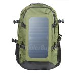Koolertron Solar Charger Bag 40 Litres Nylon Outdoor Sports Backpack with 6.5W Waterproof Solar Powered Panel Charging for iPhone/iPad/SAMSUNG/Gopro Cameras/Tablets and Other 5V Device