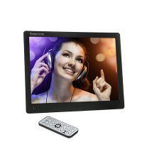 Koolertron 10 Inch LCD Widescreen (4:3) Digital Photo Frame Video Player Music Player HD 1024*768 High Resolution SD/MMC/MS - USB Slots