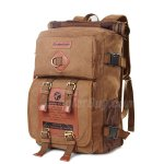 "Koolertron Classic Canvas Vintage Fashion Unisex Rucksack Laptop(14"") Backpack Handbag For School Camping Travel Fits Acer Aspire/MacBook/Chromebook/Surface Pro/iPad/Google/Samsung Galaxy"