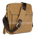 Koolertron New Casual Cowhide Genuine Leather Messenger Bag Shoulder Bag Cross Body Bag Sling Bag for Men and Women's