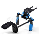 Koolertron DSLR/VCR Rig Movie Kit Shoulder Mount Stabilizer For DSLR Camera DV HDV Camcorder