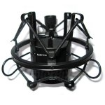 Koolertron Universal 45MM Microphone Shock Mount For 43MM-47mm Diameter Condenser Mic(2 Colors)