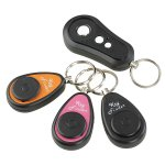 Fuloon Anti-lost Alarm Wireless Remote Key Receiver Finder Seeker Locator Search Find with with Three Receivers