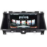 Koolertron Upgrade Multimedia Navigation System with 8-Inch TFT-LCD Touchscreen Monitor and Bluetooth Function Support 1080P video for 2008 - 2012 America and Australian Honda ACCORD