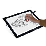 Fuloon A4 LED Modern Ultra-Slim Art Craft Design Light Pad LED Touch ADJUSTABLE Illumination Lightbox