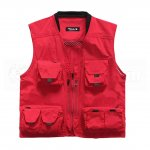 Zicac Outdoor Multi-Pocket Knitted Collar Fishing And Photography Vest (M)