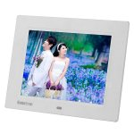 Koolertron 8 Inch HD LCD Multi-function Digital Photo Frame Support JPG/JPEG/RMVB/AVI/MPG/MPEG/VOB