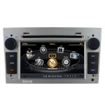 Rupse Opel Astra Antara Corsa Zafira GPS Navigation System With 3 Zone/POP/3G/WIFI/DVD Recording/Phonebook/Game, Silver