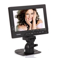"Koolertron 7"" TFT LCD Monitor with HDMI/VGA/AV Input for Multi-Media Use"