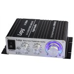 Koolertron Lepy 2024A+ Hi-Fi Mini Stereo Amplifier Car Amplifier with Power Supply