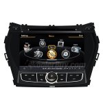 Rupse Car DVD GPS Navigation With dual-core/3Zone POP 3G/WIFI/20 Disc CDC/ DVD Recording/ Phonebook / Game For Hyundai Santa fe