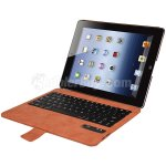 Koolertron The Newest Ultra Thin Smart Cover Keyboard for iPad 4 The New iPad