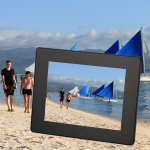 Koolertron 8 Inch LCD Widescreen(4:3) Digital Photo Frame 800*600 Resolution