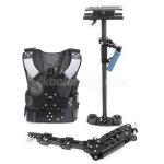 Koolertron Shoulder Load Vest Rig Stabilizer Rig Arm DSLR Camera Video Support for Canon 5D2 Nikon D700