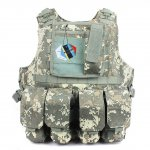 Hunting Tactical Molle Tactical Assault Plate Carrier-camouflageVest With Customizable Modular Pouches