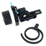 Koolertron F3 Follow Focus Finder With Gear Belt 15mm Rod Support