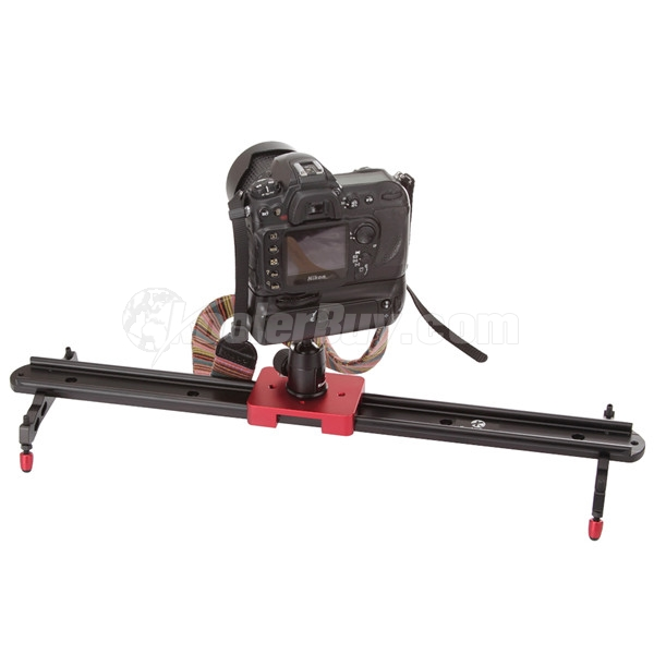 Koolertron Professional 60cm Video Camera Slider With Adjustable Damping+Mini Ball Head Applied In Video Shooting Rail Stabilization System