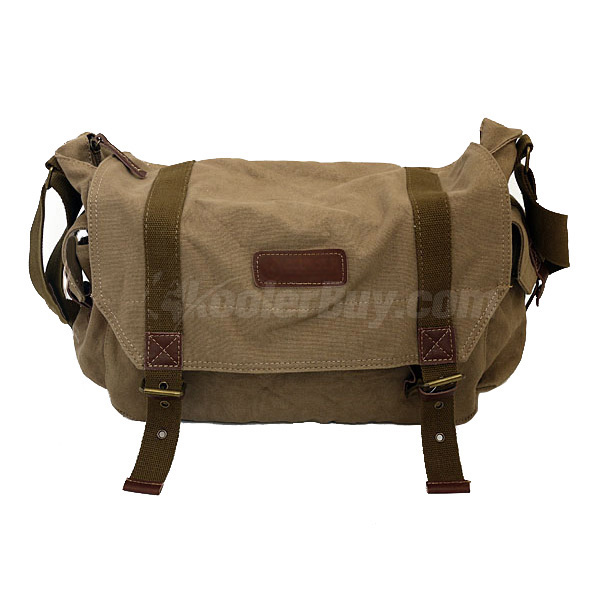 Koolertron F1001 Canvas DSLR Camera Shoulder Bag For Sony Canon Nikon Olympus Yellow