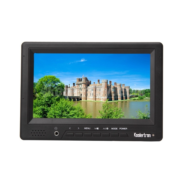 "Koolertron HD 1080P 7"" Portable Camera Field Monitor with HDMI AV YPbPr Input"