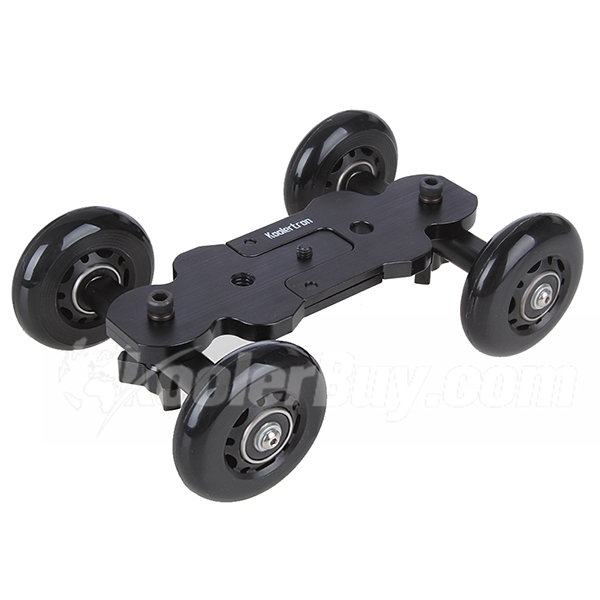 Koolertron New Pro Dolly DSLR Camera Floor Slider Track Talbe Car Video For Canon 5D2 60 7D